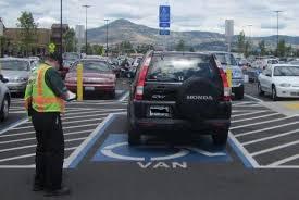 handicap parking/google images