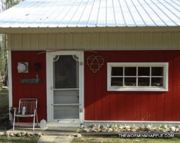 Teeny Tiny Red Cabin