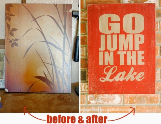 canvas upcycle
