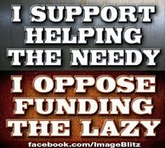 funding the lazy