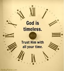 God's sense of time
