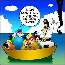 "rockin"" the boat"