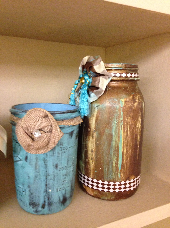 Decorate Mason Jars For Christmas