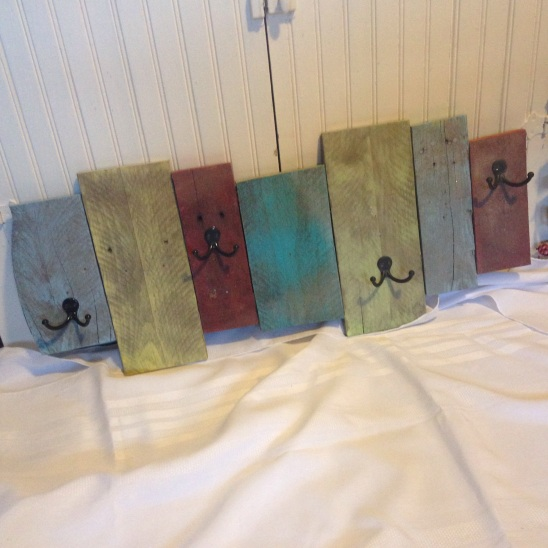 pallet board coat racks