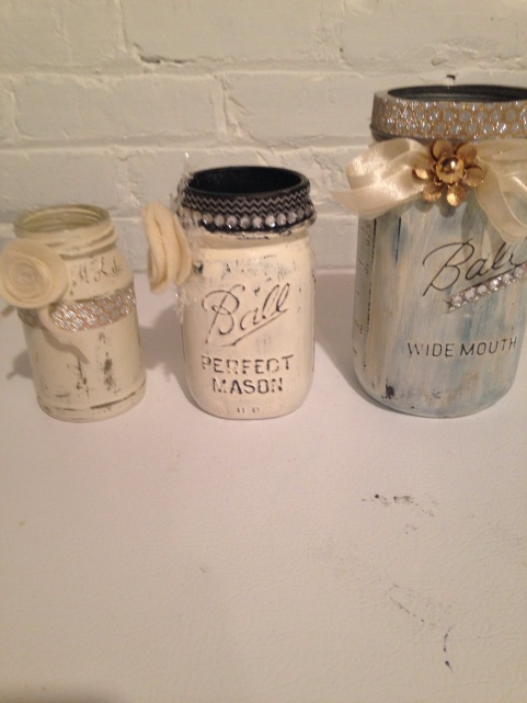 mason jars/diy