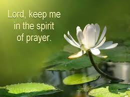 spirit of prayer