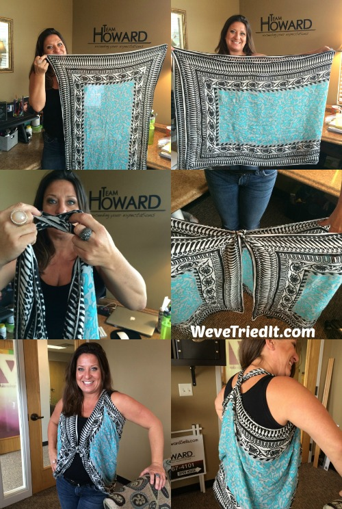scarf to vest