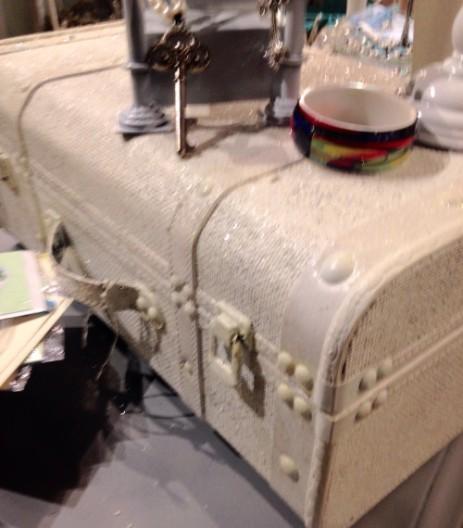 sparkle suitcase