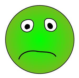 not so happy face