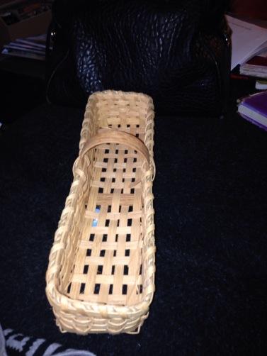 cute little Goodwill basket