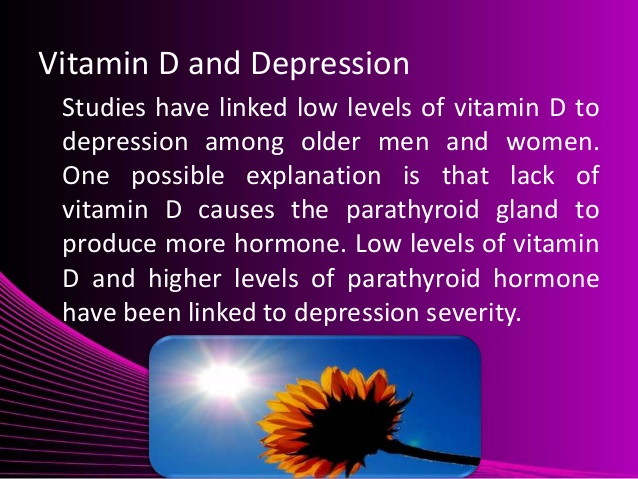 depression and vitamin D