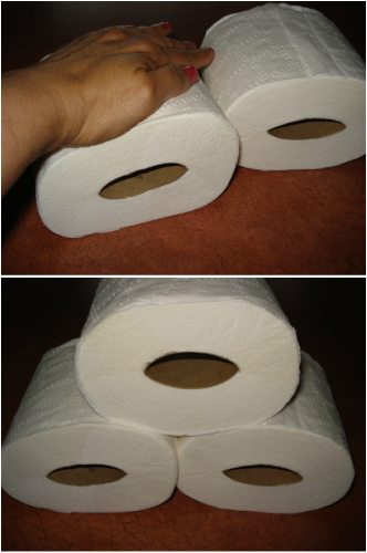 how to keep toilet paper from coming off the holder