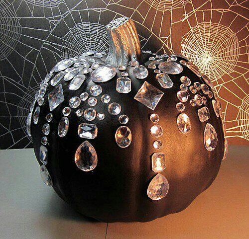 Bedazzled-pumpkin