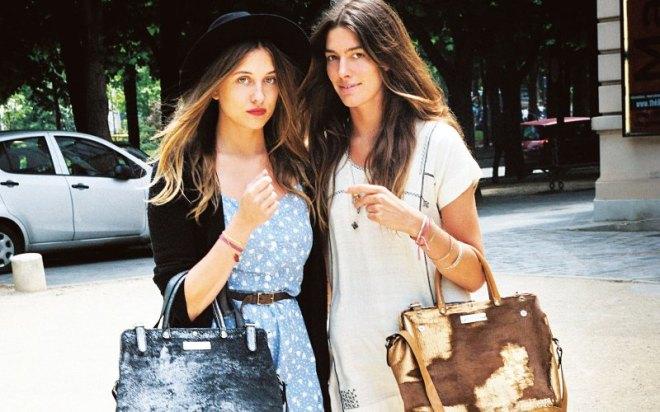 women on Paris streets