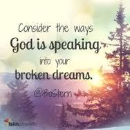 God speaks in dreams