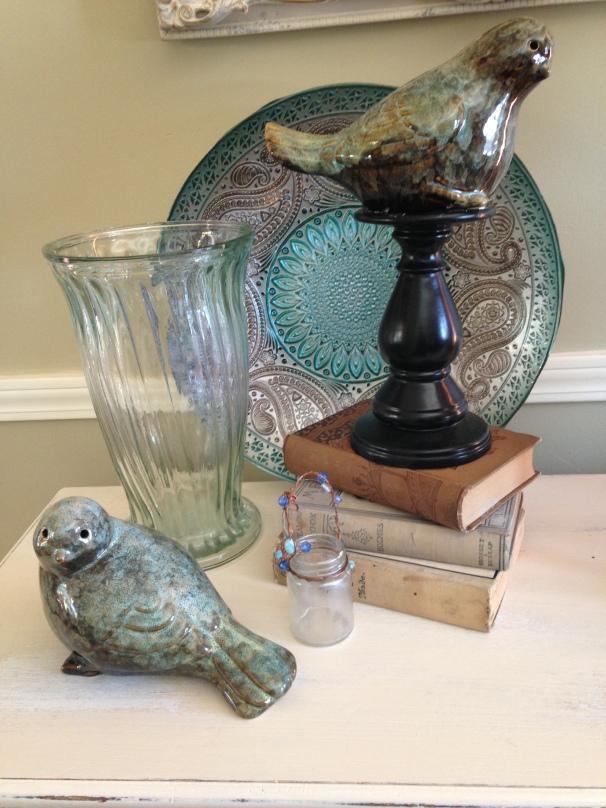 vignette with birds