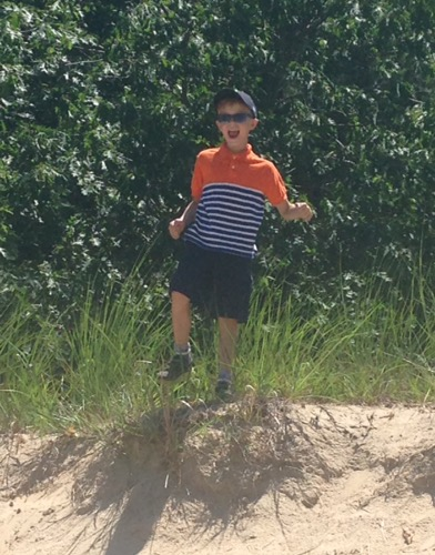 at the dunes