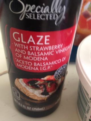 strawberry glaze