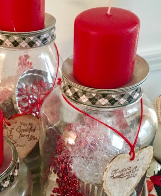 Christmas jars