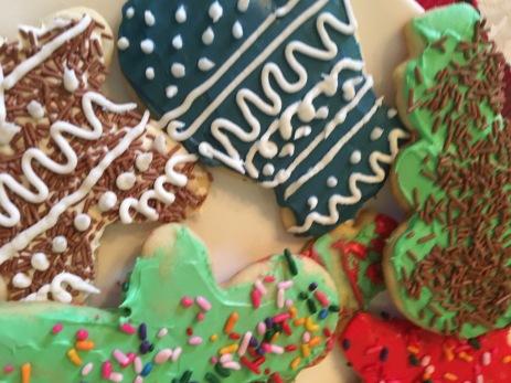 Christmas cookies,2016