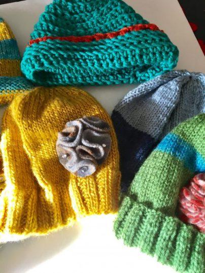 hats/Christmas 2016