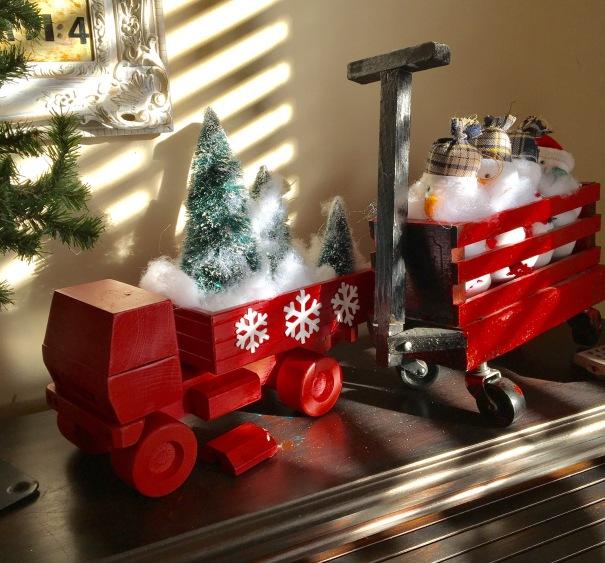 Christmas trucks//2016