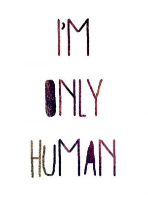 I'm only human/2017