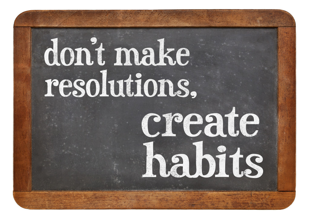 Do not make resolutions