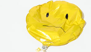 deflated balloon
