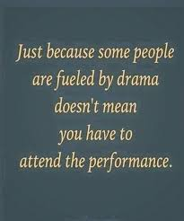 other people's drama