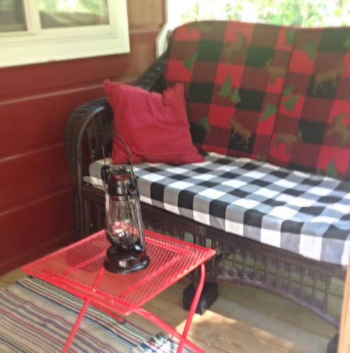 bunkhouse porch