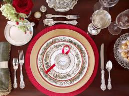 place setting/18th century
