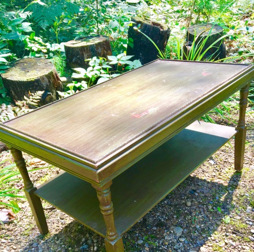 garage sale coffee table