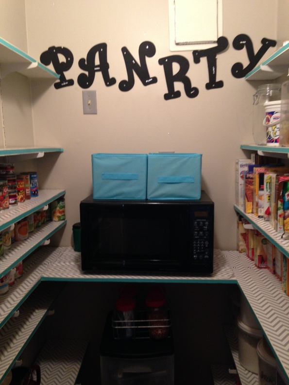 pantry re-do