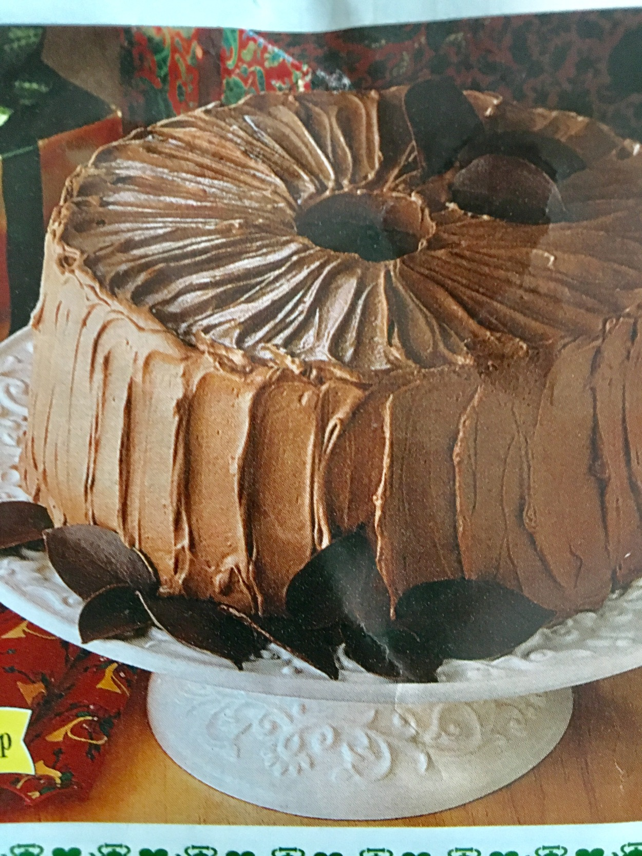 chocolate food cake
