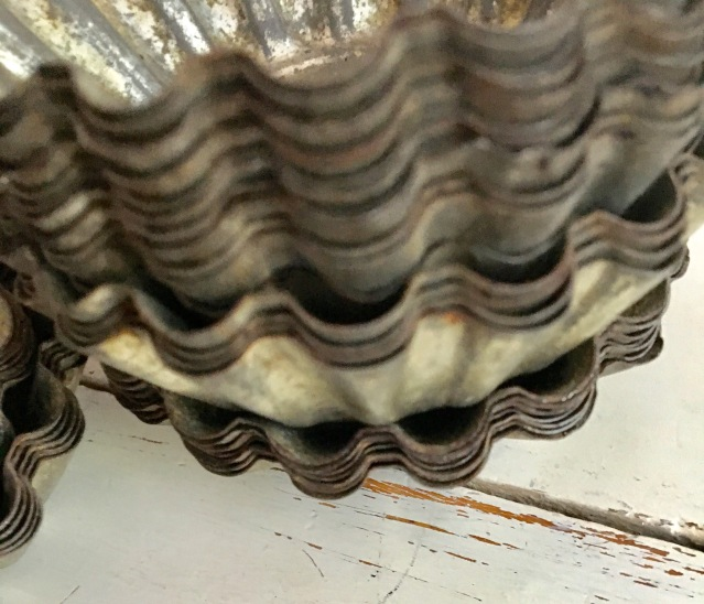 rusty tinware