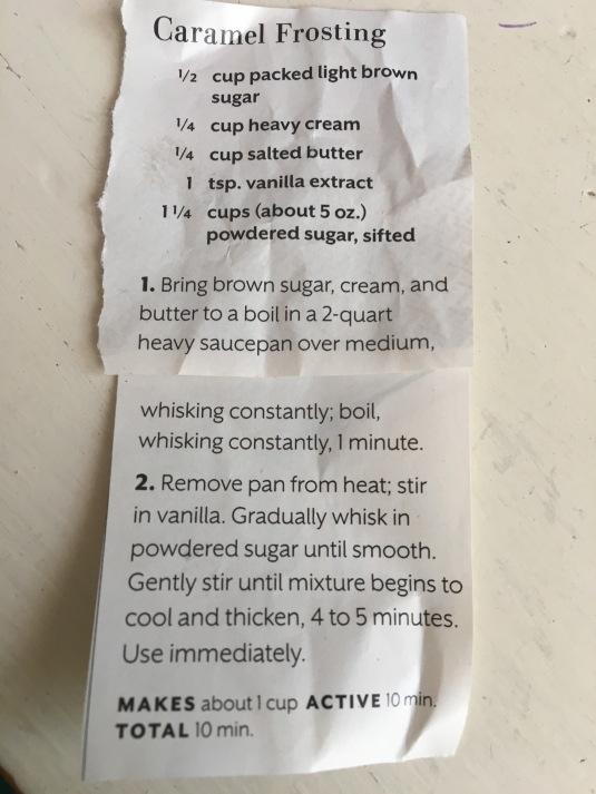 frosting reci[pe