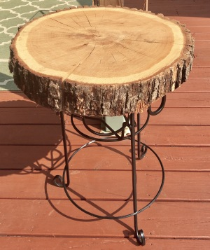 wood slices/deck