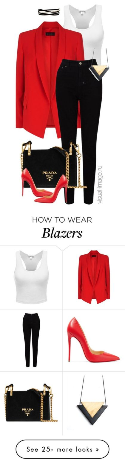 fashion fave red blazer