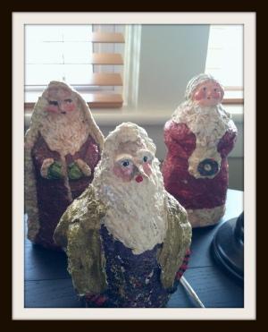 paper mache figurines