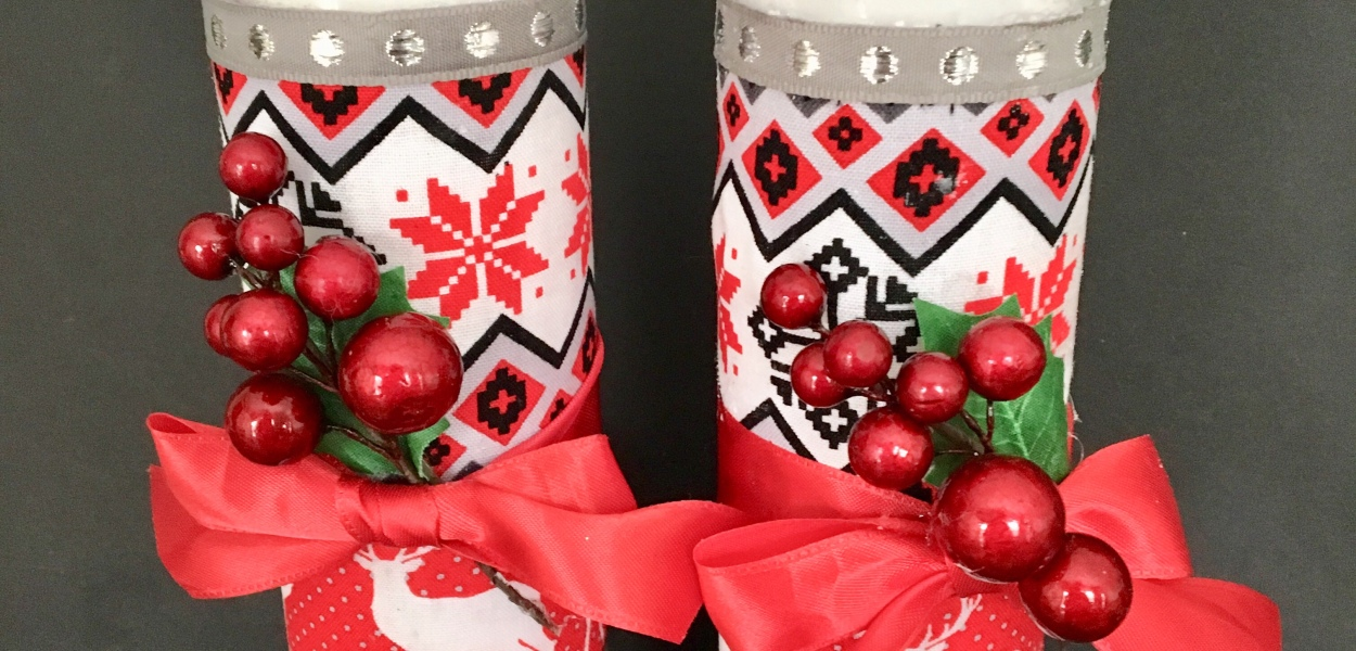 DIY/candle/christmas