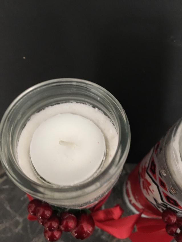 Christmas candle craft/2017