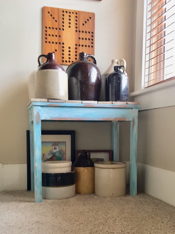 upstairs hallway/DIY
