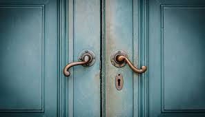 closed door/spiritual