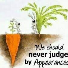judging by appearance