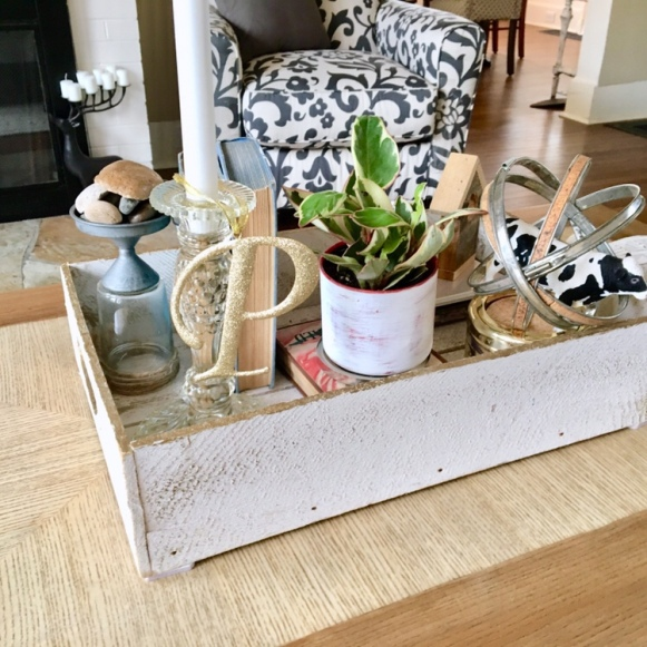 DIY/ coffee display/living room