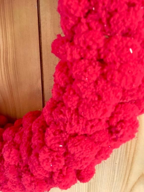 ball fringe/wreath/DIY