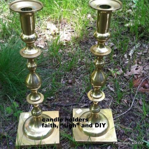 DIY/candleholders