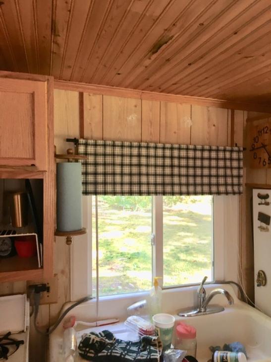 cabin kitchen/DIY