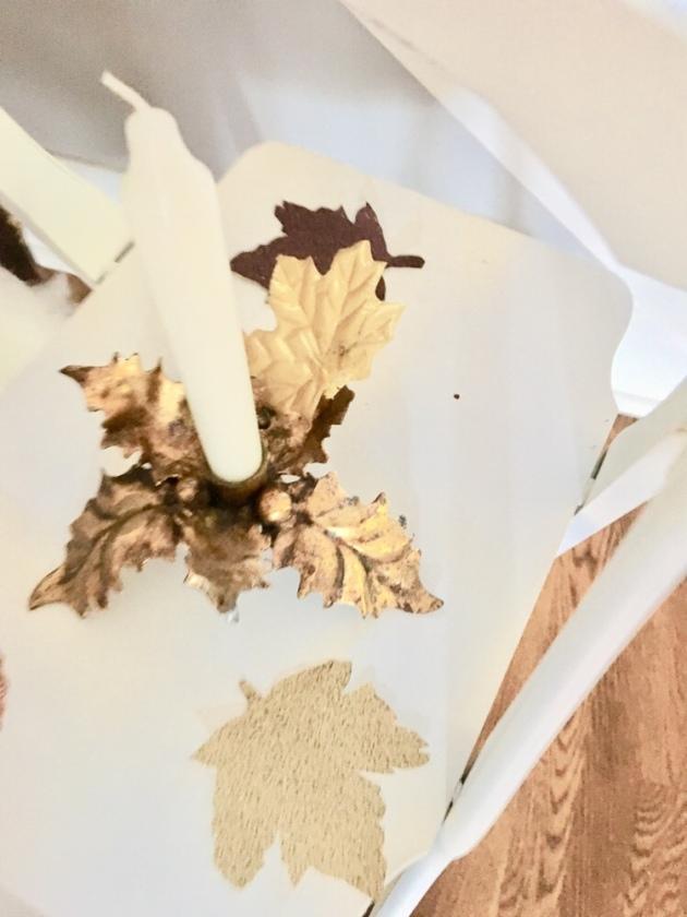 DIY/decorating/white pumpkin